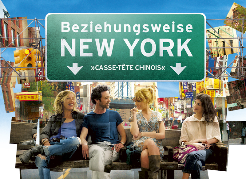 Beziehungsweise New York Filmplakat Grafik Design Affaire Populaire Berlin