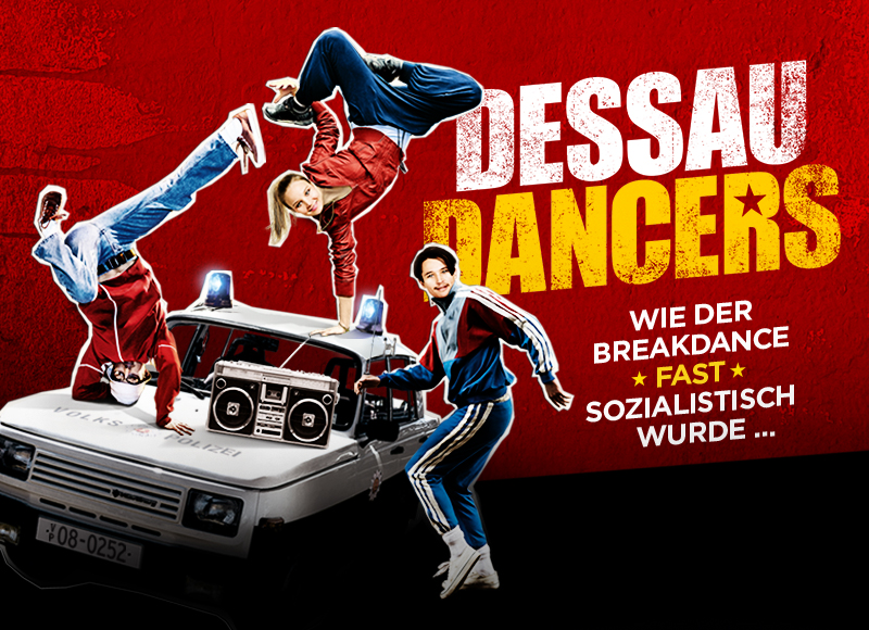 Dessau Dancers Filmplakat Grafik Design Affaire Populaire Berlin