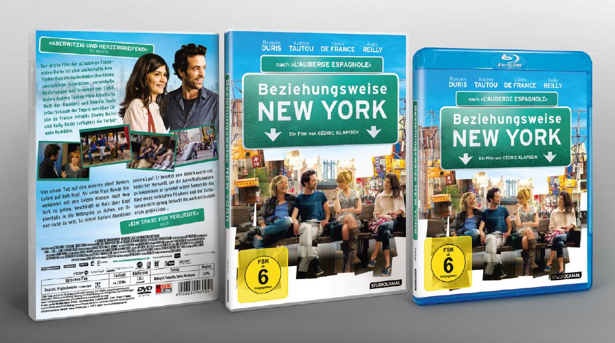Beziehungsweise New York Film Studiocanal DVD