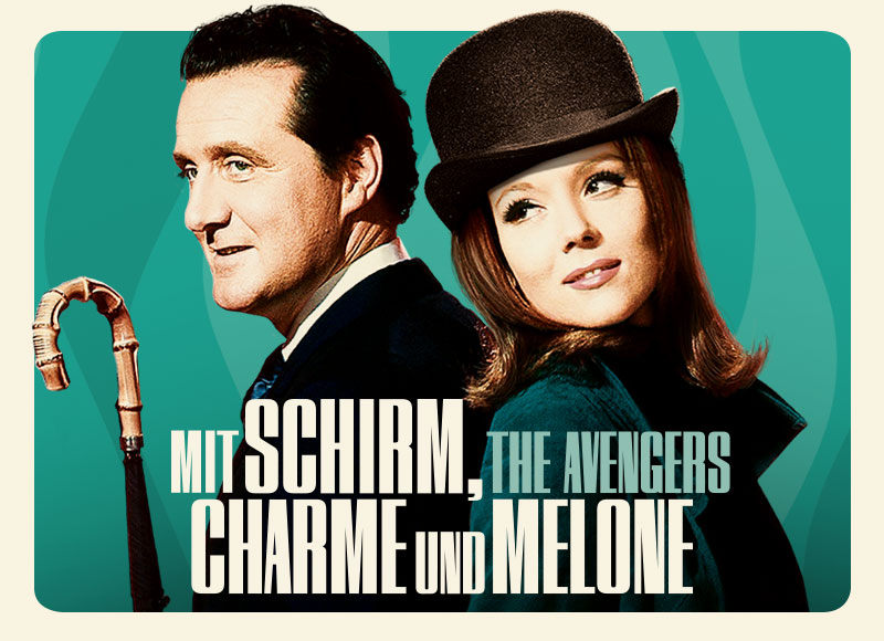 Mit Schirm Charme Melone Affaire Populaire Film Grafik Movie Entertainment Berlin