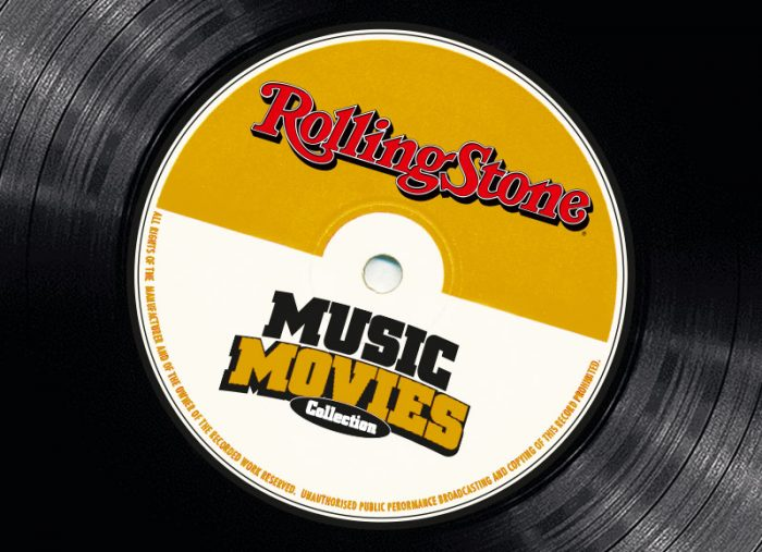 Rolling Stone Music Movies DVD Artwork