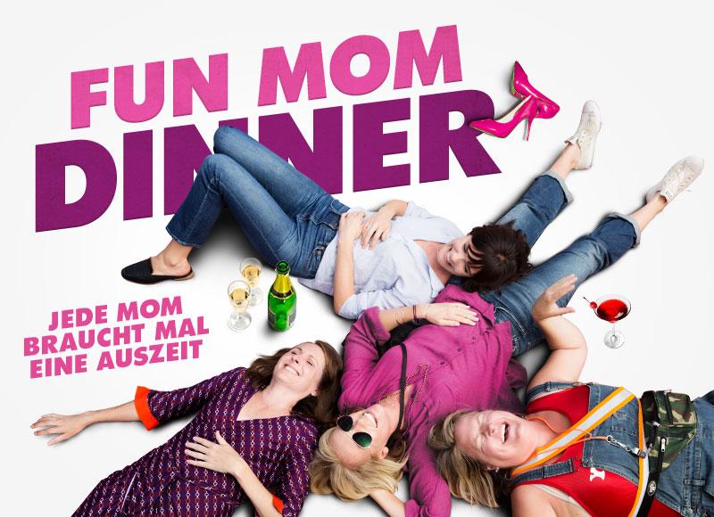 Fun Mom Dinner Affaire Populaire DVD Grafik Design Film