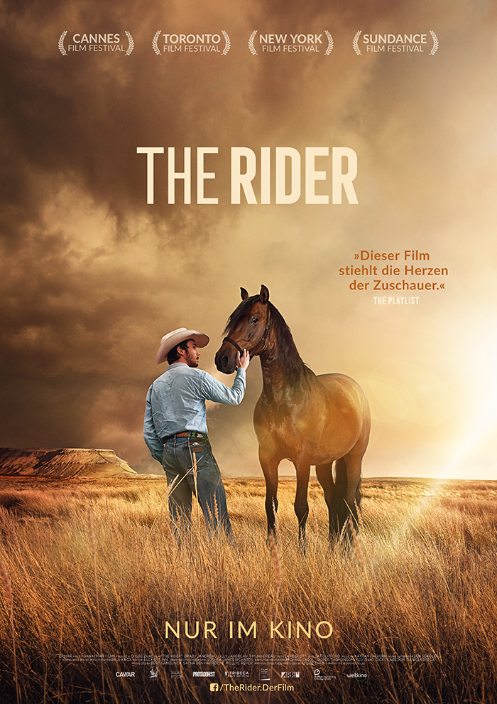 the Rider Weltkino Plakat Design Affaire Populaire